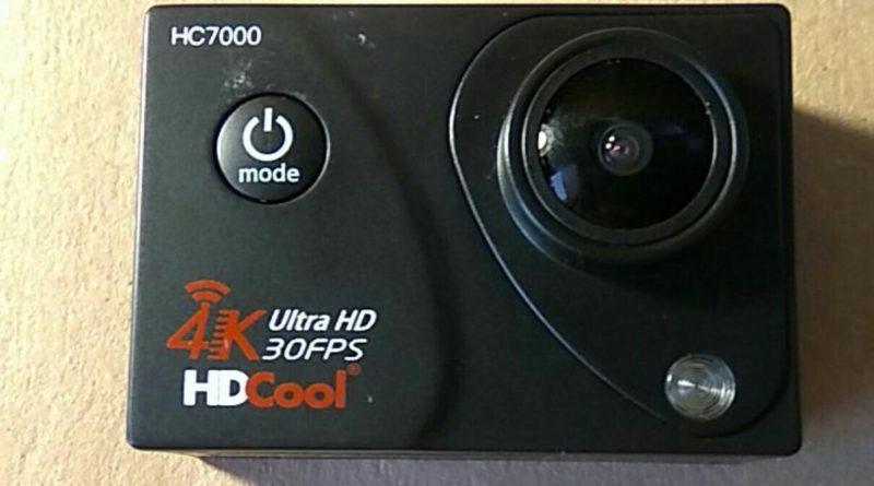 Action Cam HDCool 4K HC7000