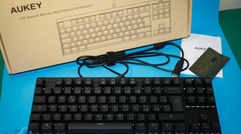 keyboard aukey